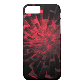 Rouge Faceted Shapes - Apple iPhone Case