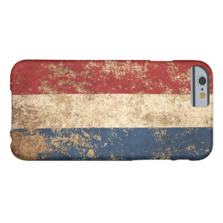 Rough Aged Vintage Dutch Flag Barely There iPhone 6 Case