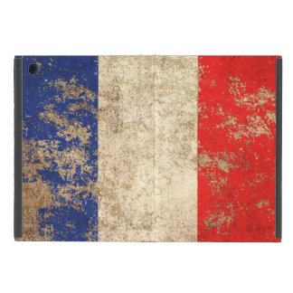 Rough Aged Vintage French Flag Covers For iPad Mini