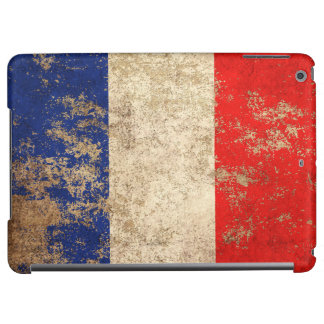 Rough Aged Vintage French Flag iPad Air Cases