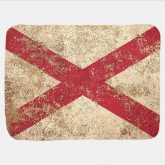 Rough Aged Vintage Northern Ireland Flag Baby Blankets
