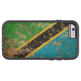 Rough Aged Vintage Tanzanian Flag Tough Xtreme iPhone 6 Case