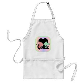 Rough and Smooth Collie Lovers Standard Apron
