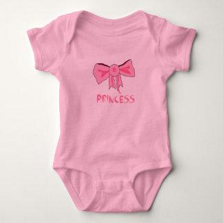 Rough around the edges Princess Bow Tee Shirts