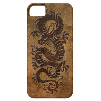Rough Chinese Dragon Case For The iPhone 5