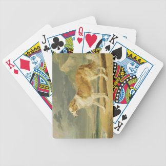 Rough-coated Collie, 1809 (oil on board) Bicycle Playing Cards