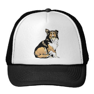 Rough Collie Dog Cap