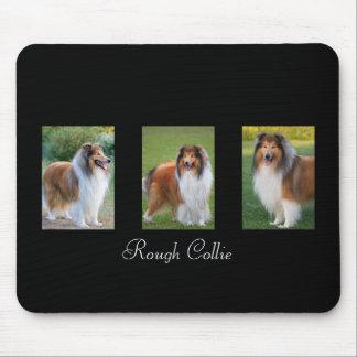 Rough Collie dog lovers custom mousepad