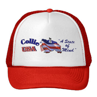 Rough Collie Gifts Cap