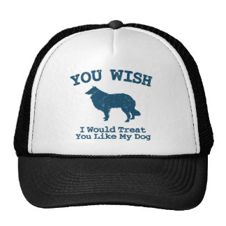 Rough Collie Trucker Hat