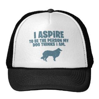 Rough Collie Trucker Hat