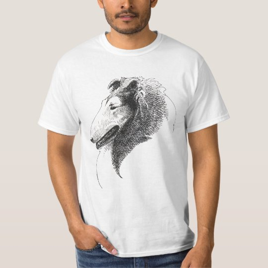Rough Collie Profile shirt