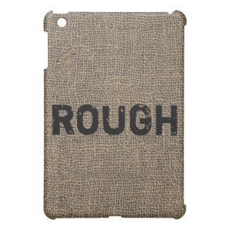 Rough Cool Burlap Texture iPad Mini Cases