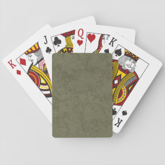 Rough Green Back Cards