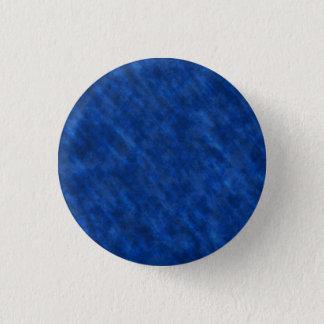 Rough Grungy Velvet Texture: Majestic Royal Blue 3 Cm Round Badge