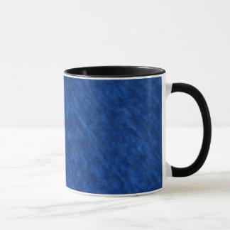 Rough Grungy Velvet Texture: Majestic Royal Blue Mug