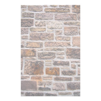 Rough-Hewn Sandstone Wall Stationery