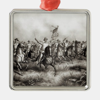 Rough Riders: Colonel Theodore Roosevelt Christmas Ornament