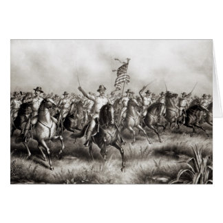 Rough Riders: Colonel Theodore Roosevelt Greeting Card