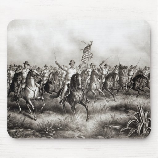 Rough Riders: Colonel Theodore Roosevelt Mouse Pad