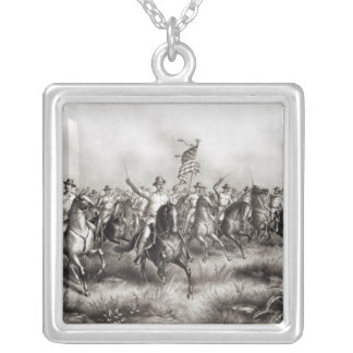 Rough Riders: Colonel Theodore Roosevelt Silver Plated Necklace