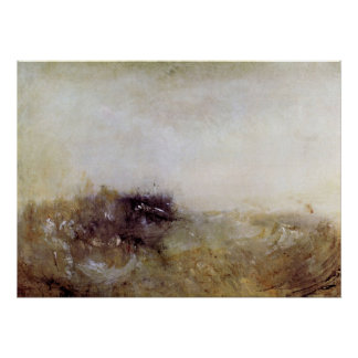 Rough Seas by Joseph Mallord Turner Posters