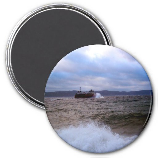Rough Waters Magnet