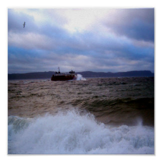 Rough Waters Poster