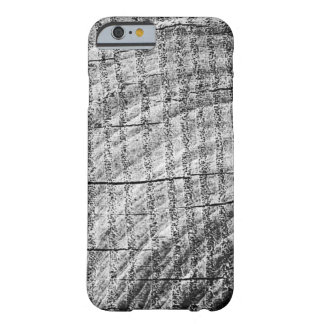 Rough Wood Grain Design Barely There iPhone 6 Case