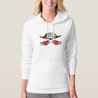 Roughneck Skull and Crossed Wrenches Hoodie