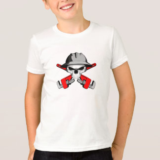 Roughneck Skull and Crossed Wrenches T-Shirt