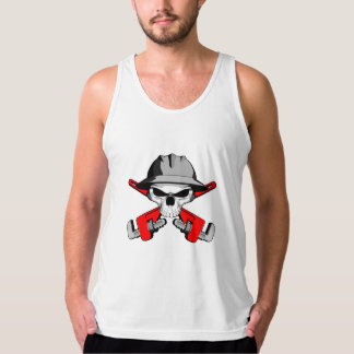 Roughneck Skull and Crossed Wrenches Tank Top