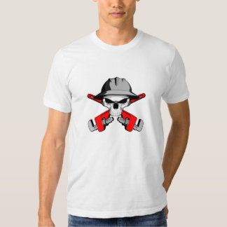 Roughneck Skull and Crossed Wrenches Tee Shirt
