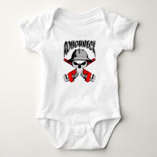 Roughneck Skull Baby Bodysuit