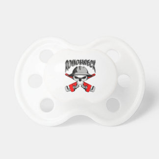 Roughneck Skull Baby Pacifiers