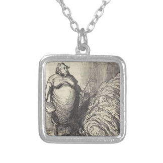 Rouher. I can never wash all this Honore Daumier Silver Plated Necklace