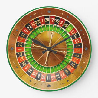 Roulette 1 Wall Clocks Options
