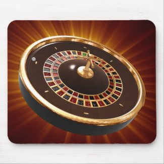 roulette mouse mats