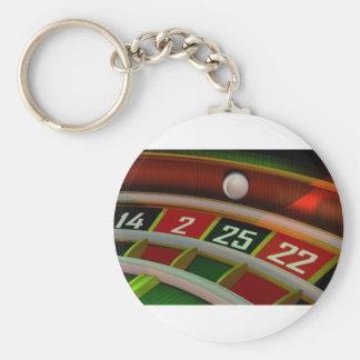 Roulette Rulet Casino Game Key Ring