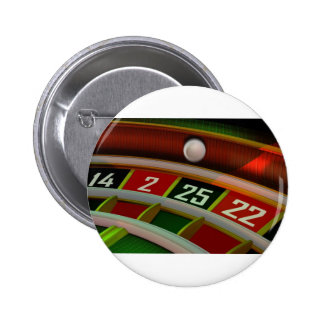 Roulette Rulet Casino Game Pinback Buttons
