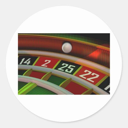 Roulette Rulet Casino Game Sticker
