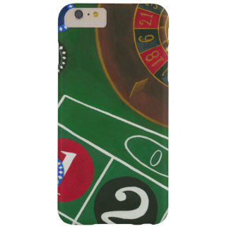 Roulette Table with Chips and Wheel Barely There iPhone 6 Plus Case