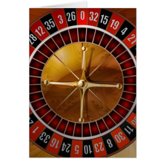 Roulette Wheel Card