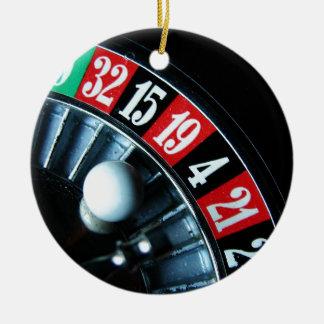 Roulette Wheel Christmas Tree Ornaments