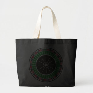 ROULETTE WHEEL JUMBO TOTE BAG