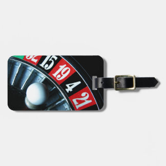 Roulette Wheel Luggage Tag