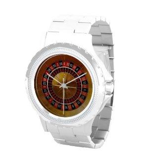 Roulette Wheel Wristwatch