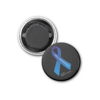 Round Adult PKU Awareness Magent Magnet