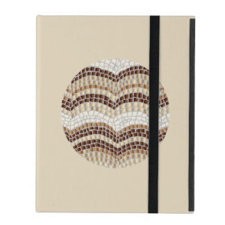 Round Beige Mosaic iPad 2/3/4 Case Cases For iPad