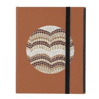 Round Beige Mosaic iPad 2/3/4 Case iPad Cases